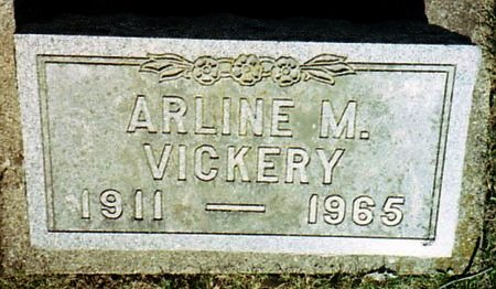 VICKERY, ARLINE - Calhoun County, Michigan | ARLINE VICKERY - Michigan Gravestone Photos