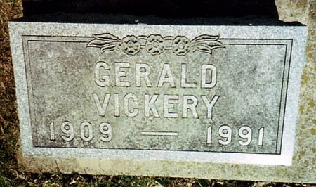 VICKERY, GERALD - Calhoun County, Michigan | GERALD VICKERY - Michigan Gravestone Photos
