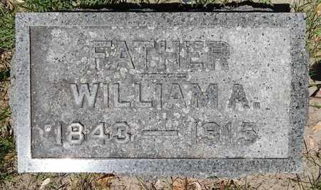 VICKERY, WILLIAM A - Calhoun County, Michigan | WILLIAM A VICKERY - Michigan Gravestone Photos