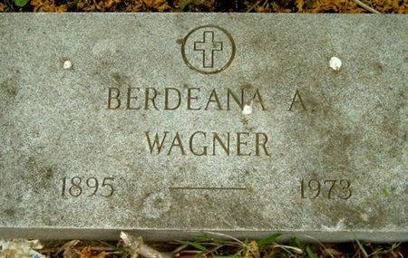 WAGNER, BERDENA A - Calhoun County, Michigan | BERDENA A WAGNER - Michigan Gravestone Photos