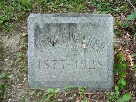 WALKER, CORA E - Calhoun County, Michigan | CORA E WALKER - Michigan Gravestone Photos