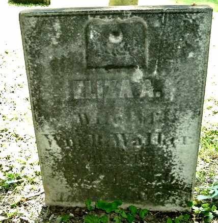 WALKER, ELIZA A. - Calhoun County, Michigan | ELIZA A. WALKER - Michigan Gravestone Photos