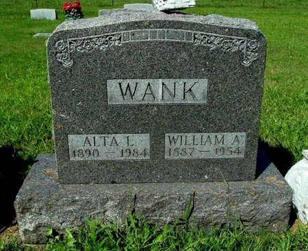 WANK, WILLIAM A. - Calhoun County, Michigan | WILLIAM A. WANK - Michigan Gravestone Photos