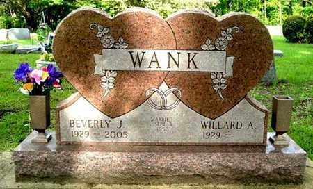 WANK, BEVERLY J - Calhoun County, Michigan   BEVERLY J WANK - Michigan Gravestone Photos