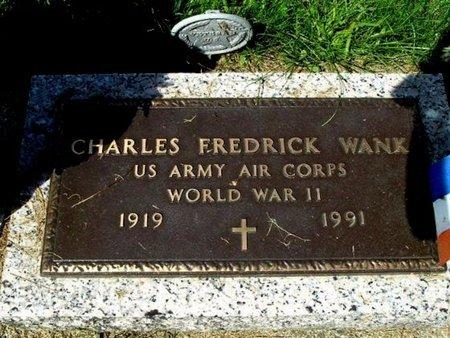 WANK, CHARLES F. - Calhoun County, Michigan | CHARLES F. WANK - Michigan Gravestone Photos