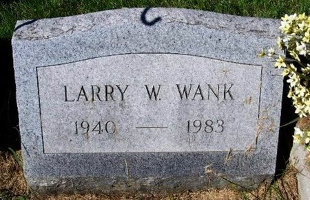 WANK, LARRY W - Calhoun County, Michigan | LARRY W WANK - Michigan Gravestone Photos