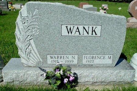 WANK, WARREN N. - Calhoun County, Michigan | WARREN N. WANK - Michigan Gravestone Photos