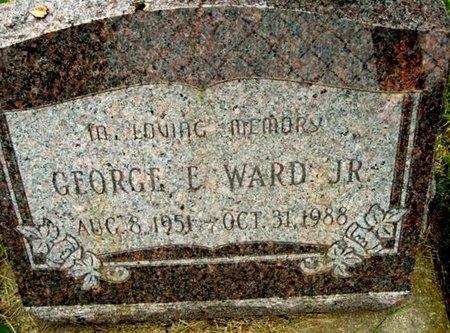 WARD, GEORGE E. JR - Calhoun County, Michigan   GEORGE E. JR WARD - Michigan Gravestone Photos