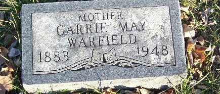 WARFIELD, CARRIE M - Calhoun County, Michigan   CARRIE M WARFIELD - Michigan Gravestone Photos