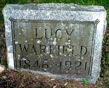 WARFIELD, LUCY - Calhoun County, Michigan | LUCY WARFIELD - Michigan Gravestone Photos