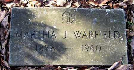 WARFIELD, MARTHA J - Calhoun County, Michigan   MARTHA J WARFIELD - Michigan Gravestone Photos