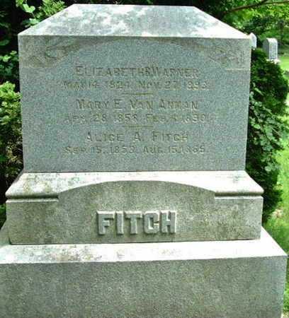 WARNER, ELIZABETH - Calhoun County, Michigan | ELIZABETH WARNER - Michigan Gravestone Photos