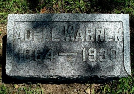 WARREN, ADELL - Calhoun County, Michigan | ADELL WARREN - Michigan Gravestone Photos