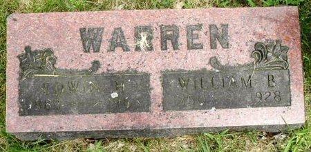 WARREN, EDWIN H - Calhoun County, Michigan | EDWIN H WARREN - Michigan Gravestone Photos