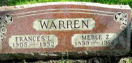 WARREN, MERLE Z - Calhoun County, Michigan | MERLE Z WARREN - Michigan Gravestone Photos
