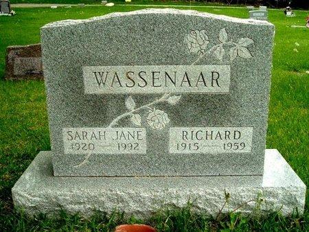 WASSENAAR, SARAH J - Calhoun County, Michigan | SARAH J WASSENAAR - Michigan Gravestone Photos
