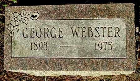 WEBSTER, GEORGE - Calhoun County, Michigan   GEORGE WEBSTER - Michigan Gravestone Photos