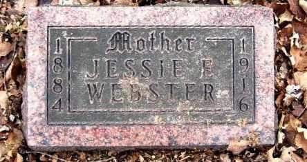 WEBSTER, JESSIE E - Calhoun County, Michigan   JESSIE E WEBSTER - Michigan Gravestone Photos