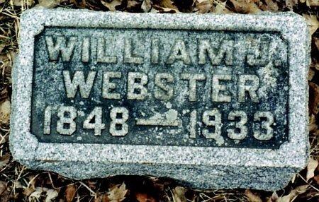 WEBSTER, WILLIAM J. - Calhoun County, Michigan | WILLIAM J. WEBSTER - Michigan Gravestone Photos