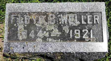 WELLER, FLOYD B - Calhoun County, Michigan | FLOYD B WELLER - Michigan Gravestone Photos