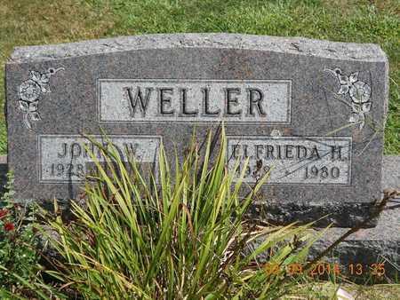 WELLER, JOHN W. - Calhoun County, Michigan | JOHN W. WELLER - Michigan Gravestone Photos