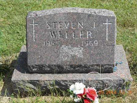 WELLER, STEVEN J. - Calhoun County, Michigan | STEVEN J. WELLER - Michigan Gravestone Photos