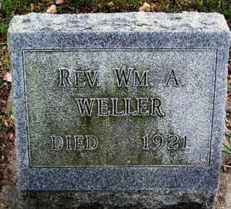 WELLER, WILLIAM A - Calhoun County, Michigan | WILLIAM A WELLER - Michigan Gravestone Photos
