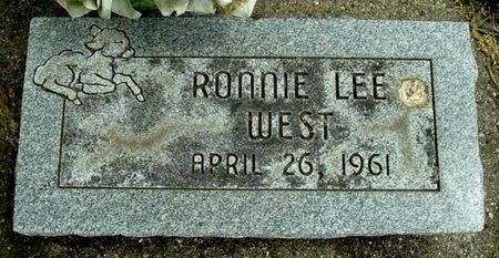 WEST, RONNIE L - Calhoun County, Michigan | RONNIE L WEST - Michigan Gravestone Photos