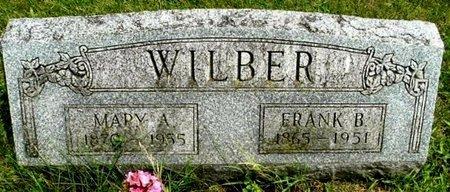 WILBER, FRANK B - Calhoun County, Michigan | FRANK B WILBER - Michigan Gravestone Photos