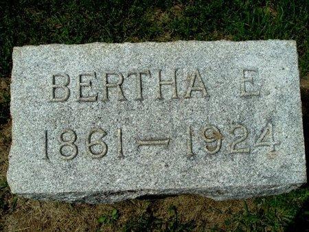 WILCOX, BERTHA E. - Calhoun County, Michigan | BERTHA E. WILCOX - Michigan Gravestone Photos