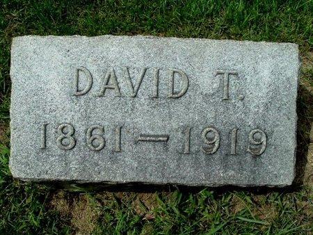 WILCOX, DAVID T. - Calhoun County, Michigan   DAVID T. WILCOX - Michigan Gravestone Photos