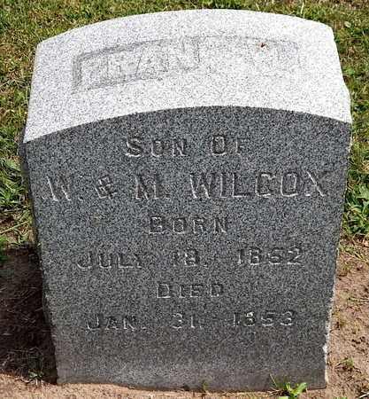 WILCOX, FRANK W - Calhoun County, Michigan | FRANK W WILCOX - Michigan Gravestone Photos
