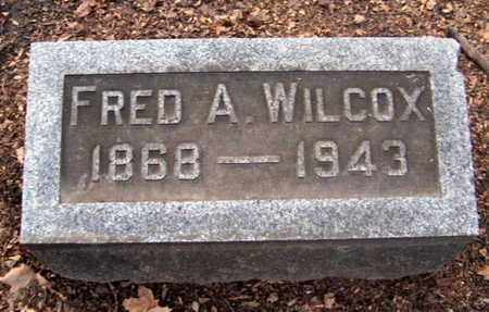 WILCOX, FED A - Calhoun County, Michigan | FED A WILCOX - Michigan Gravestone Photos
