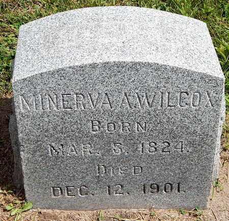 WILCOX, MINERVA - Calhoun County, Michigan   MINERVA WILCOX - Michigan Gravestone Photos