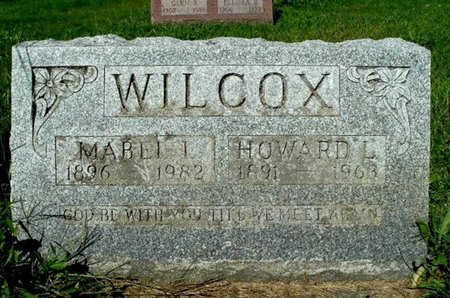 WILCOX, MABEL - Calhoun County, Michigan | MABEL WILCOX - Michigan Gravestone Photos