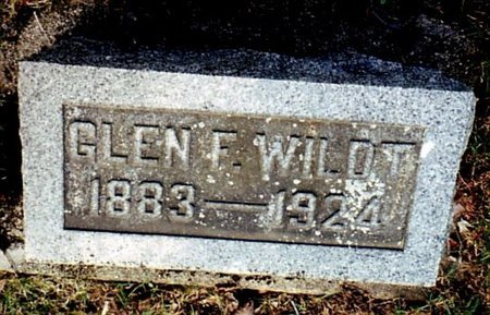 WILDT, GLEN - Calhoun County, Michigan | GLEN WILDT - Michigan Gravestone Photos