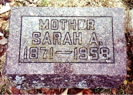 WILDT, SARAH A. - Calhoun County, Michigan   SARAH A. WILDT - Michigan Gravestone Photos