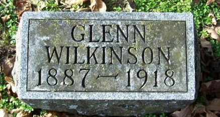 WILKINSON, GLENN - Calhoun County, Michigan | GLENN WILKINSON - Michigan Gravestone Photos