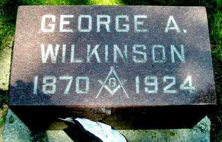 WILKINSON, GEORGE A - Calhoun County, Michigan | GEORGE A WILKINSON - Michigan Gravestone Photos