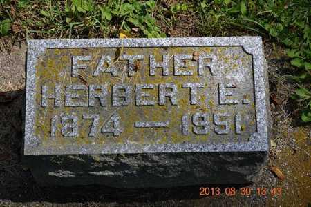 WILKINSON, HERBERT E. - Calhoun County, Michigan | HERBERT E. WILKINSON - Michigan Gravestone Photos