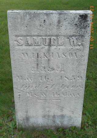 WILKINSON, SAMUEL W. - Calhoun County, Michigan   SAMUEL W. WILKINSON - Michigan Gravestone Photos