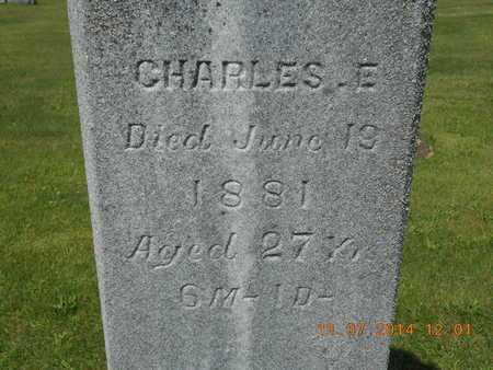 WILSON, CHARLES E. - Calhoun County, Michigan | CHARLES E. WILSON - Michigan Gravestone Photos