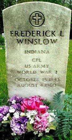 WINSLOW, FREDERICK L - Calhoun County, Michigan | FREDERICK L WINSLOW - Michigan Gravestone Photos