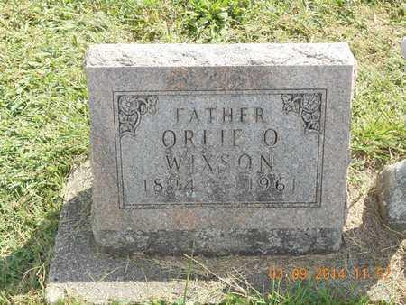 WIXSON, ORLIE O. - Calhoun County, Michigan   ORLIE O. WIXSON - Michigan Gravestone Photos