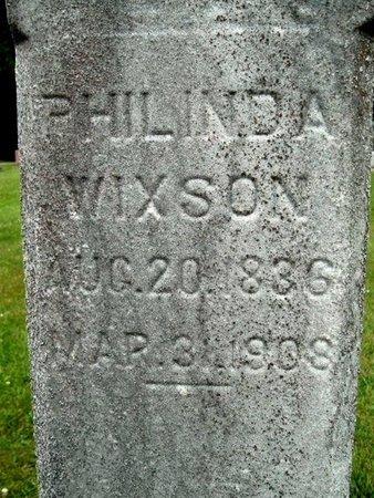 WIXSON, PHILINDA - Calhoun County, Michigan | PHILINDA WIXSON - Michigan Gravestone Photos