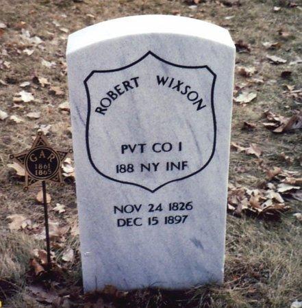 WIXSON, ROBERT - Calhoun County, Michigan | ROBERT WIXSON - Michigan Gravestone Photos