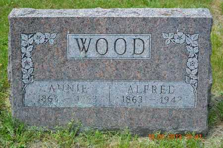 WOOD, ANNIE - Calhoun County, Michigan | ANNIE WOOD - Michigan Gravestone Photos