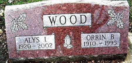 WOOD, ALYS I - Calhoun County, Michigan | ALYS I WOOD - Michigan Gravestone Photos