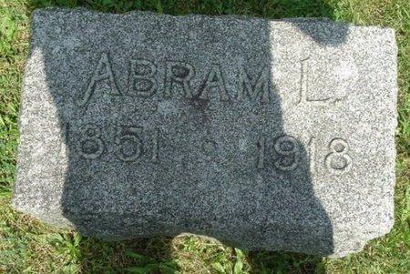 WOOD, ABRAM L - Calhoun County, Michigan | ABRAM L WOOD - Michigan Gravestone Photos
