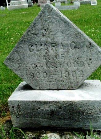 WOOD, CLARA C - Calhoun County, Michigan   CLARA C WOOD - Michigan Gravestone Photos